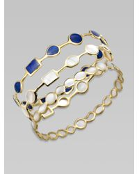 Ippolita - Metallic Mother-of-pearl And 18k Yellow Gold Bracelet - Lyst