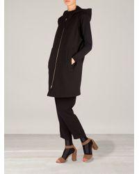 Marni - Black Boxy Hooded Gilet - Lyst