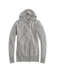 J.Crew | Gray Collection Cashmere Popover Hoodie | Lyst