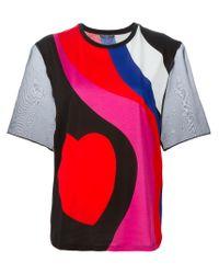 Alexander McQueen - Black Heart Print T-shirt - Lyst
