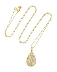 Carolina Bucci | Metallic Diamond, Opal & Yellow-gold Necklace | Lyst