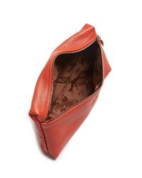 Longchamp | Red Le Pliage Cosmetic Case | Lyst