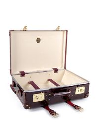 "Globe-Trotter - Red Orient 21"" Urushi Lacquer Trolley Case - Lyst"