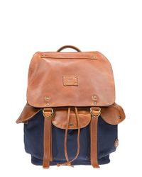 Will Leather Goods | Blue 'lennon' Backpack for Men | Lyst