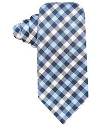 Vince Camuto   Blue Plaid Silk Tie for Men   Lyst