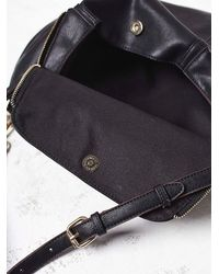 Free People | Black Womens Zip Around Crossbody | Lyst