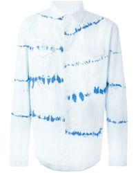 Soulland - Blue 'whaiw' Denim Shirt for Men - Lyst