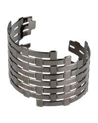 Oblique - Gray Bracelet - Lyst