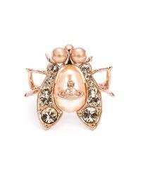 Vivienne Westwood | Pink 'gillian' Ring | Lyst