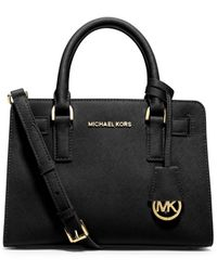 Michael Kors | Black Michael Dillon Small Satchel | Lyst