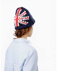 Wool And The Gang | Blue Let It Beanie | Lyst