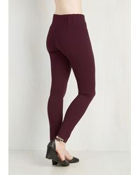 Boom Boom Jeans | Purple Can You Gig It? Pants In Cranberry | Lyst