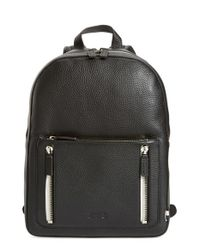 Uri Minkoff - Black 'bondi' Leather Backpack - Lyst
