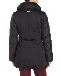 SOIA & KYO - Black Vestie Pillow Collar Jacket - Lyst
