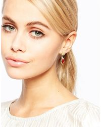 Les Nereides | Pink Jewel Drop Earrings | Lyst