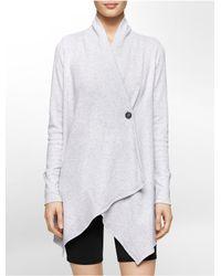 Calvin Klein | Gray White Label Performance Thermal Wrap Jacket | Lyst