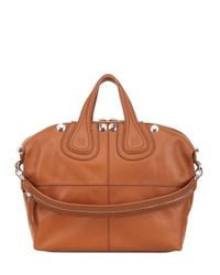 Givenchy - Brown Medium Nightingale Studded Leather Bag - Lyst