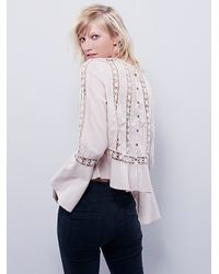 Free People | Natural Womens Everyday Fairytale Top | Lyst