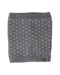 Original Penguin | Gray Bird's Eye Knit Cowl Neckwarmer for Men | Lyst
