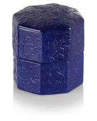 Lydia Courteille - Purple 18karat Blackened White Gold Amethyst Diamond and Sapphire Frog Ring - Lyst