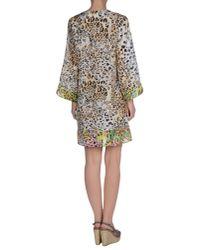 Blumarine - Black Beach Dress - Lyst