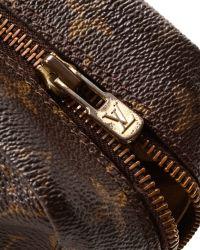 Louis Vuitton - Brown Zip Pouch - Vintage - Lyst