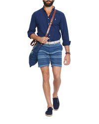 Polo Ralph Lauren   Blue Polo Golf By Polo Ralph Lauren Custom Fit Long Sleeve Shirt for Men   Lyst