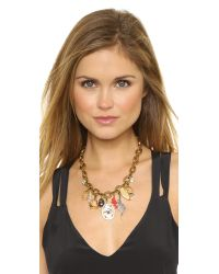 Lulu Frost | Metallic Traveler Necklace | Lyst