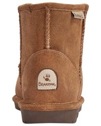 BEARPAW | Brown Demi Cold Weather Ankle Booties | Lyst