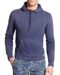 Polo Ralph Lauren | Blue Jersey Hoodie for Men | Lyst