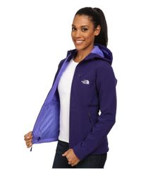 The North Face | Purple Apex Bionic Hoodie | Lyst
