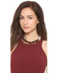 Lizzie Fortunato - Brown Modern Kyoto Necklace - Lyst