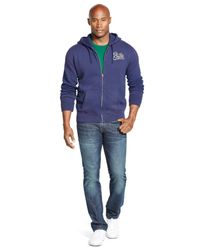 Polo Ralph Lauren - Blue Big And Tall Fleece Full-zip Hoodie for Men - Lyst
