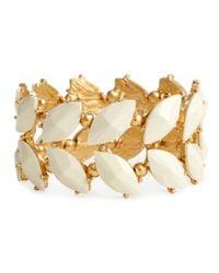 H&M - White Elasticated Bracelet - Lyst