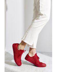Converse - Red Chuck Taylor All Star Nylon Monotone Sneaker - Lyst