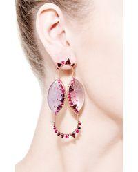 Fernando Jorge - Pink Fusion Ameythst Cycle Earrings - Lyst