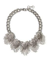Banana Republic | Metallic Sparkle Burst Necklace | Lyst