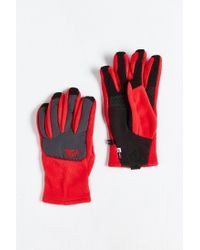 The North Face | Red Denali Etip Glove for Men | Lyst