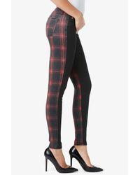 Hudson Jeans - Red Krista Vice Versa Super Skinny - Lyst