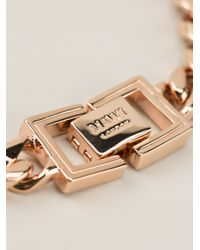 Mawi | Pink Embellished Chain Necklace | Lyst