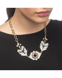 Lulu Frost | Metallic Ravenna Statement Necklace | Lyst