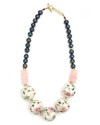 Lizzie Fortunato | Pink Disco Society Necklace | Lyst