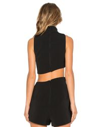 Keepsake | Black Rip Tide Top | Lyst