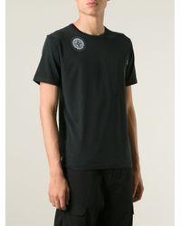 Stone Island | Black Back Graphic Print T-Shirt for Men | Lyst