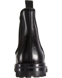 Barneys New York - Black Thick Sole Chelsea Boot for Men - Lyst
