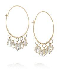 Melissa Joy Manning | Metallic 14-Karat Gold Herkimer Diamond Earrings | Lyst