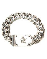King Baby Studio - Gray Star Link Bracelet - Lyst