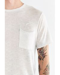 Timberland - White Reid Pocket Tee for Men - Lyst