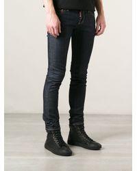 DSquared² - Blue Slim Jean for Men - Lyst