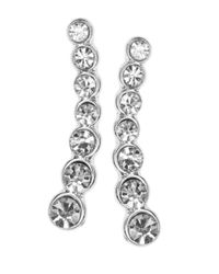 Anne Klein - Metallic Silvertone Graduated Ear Crawlers - Lyst